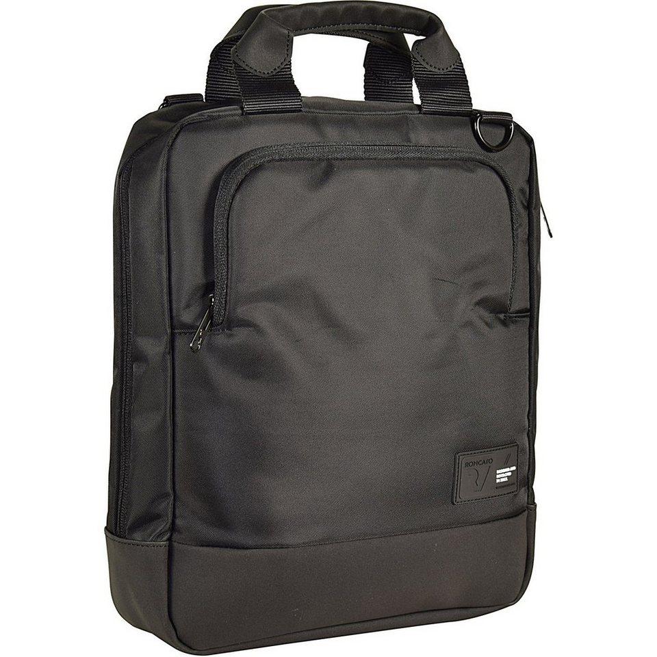 Roncato Princeton Aktentasche 27 cm Laptopfach in schwarz