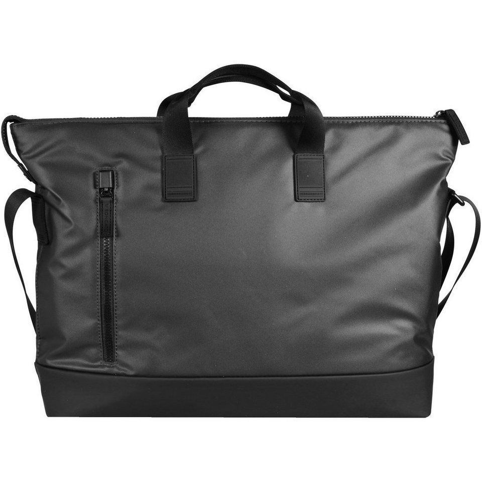 Roncato Oxford Shopper Tasche 41 cm in schwarz