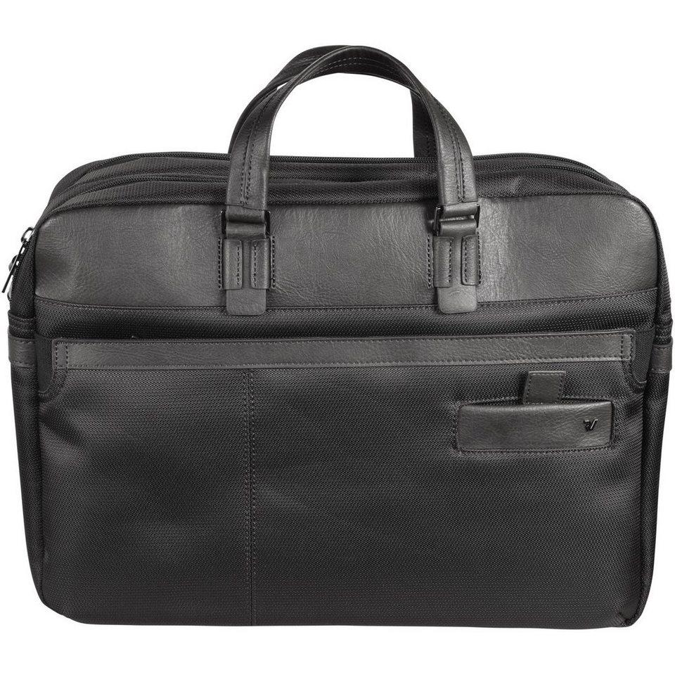 Roncato Havard Aktentasche 42 cm Laptopfach in schwarz