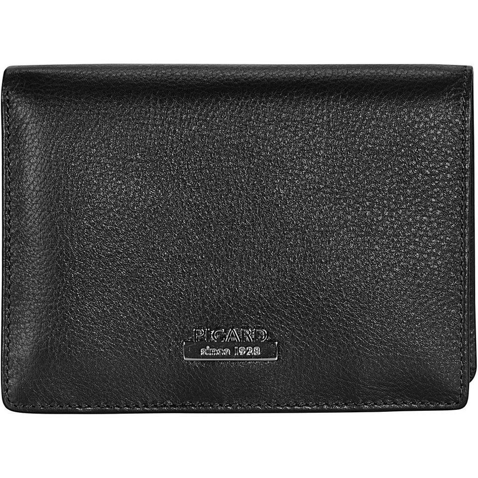 Picard Twinkle 1 Geldbörse Leder 9,5 cm in schwarz