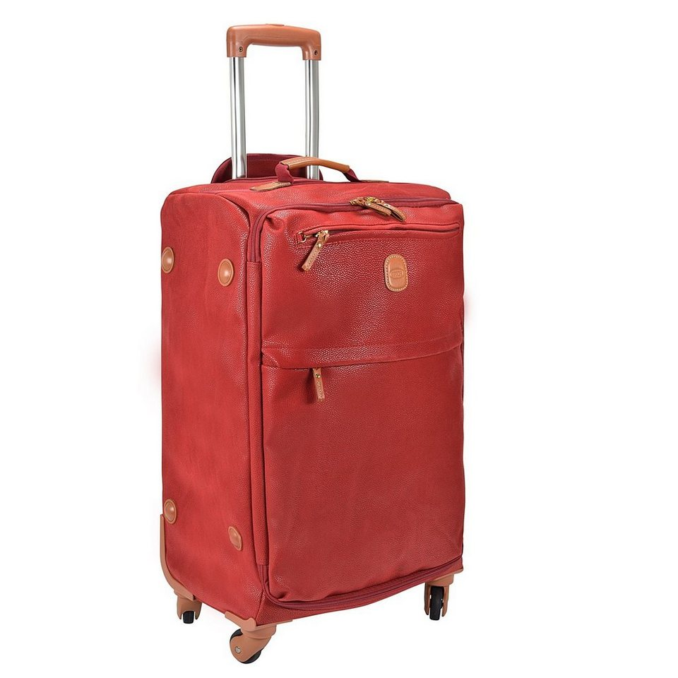 Bric's Life Promo Trolley 4-Rollen 65 cm in red
