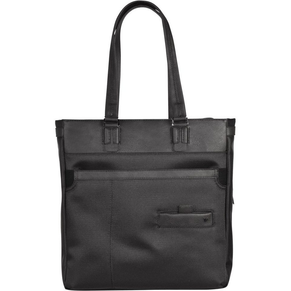 Roncato Harvard Shopper Business Tasche 35 cm in schwarz