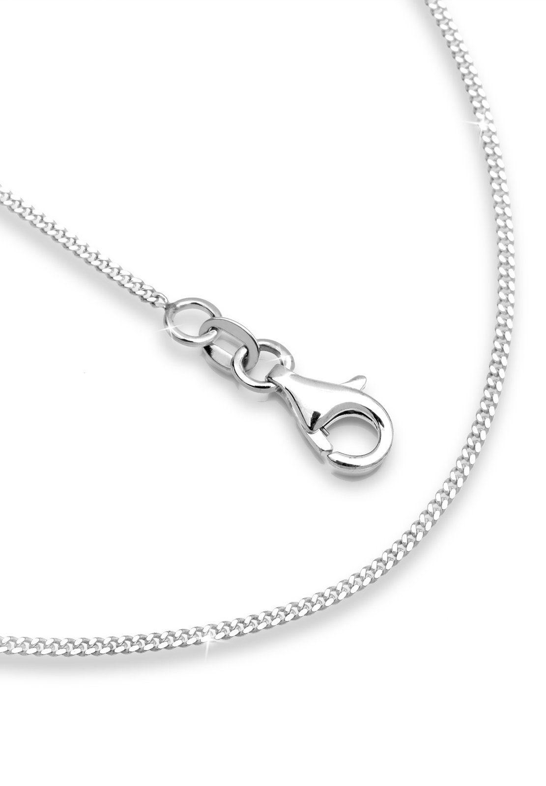 Elli Halskette »Lang Basic Gliederkette Klassisch 925 Silber«