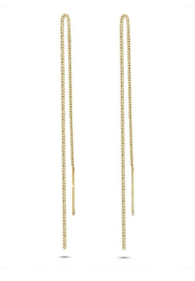 GOLDHIMMEL Ohrringe »Ohrhänger Silber vergoldet« in gold