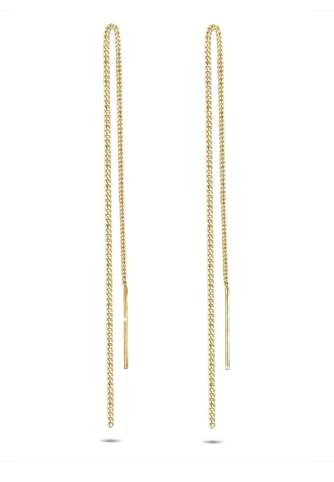 GOLDHIMMEL Ohrringe »Ohrhänger Silber vergoldet«