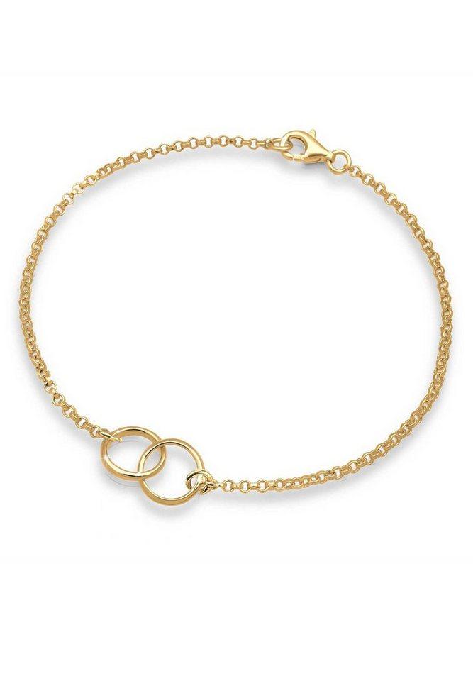 GOLDHIMMEL Armband »Ringe vergoldet« in Gold