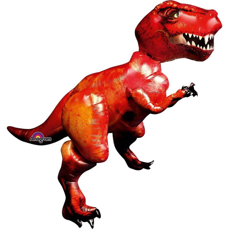 Amscan Folienballon AirWalker Discovering Dinosaurs Tyrannosaurus R