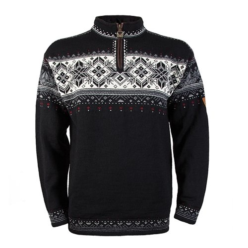 Dale of Norway Pullover »Blyfiell« in black/off white