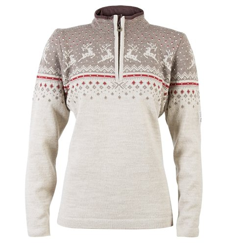 Dale of Norway Pullover »Tuva« in mountainstone/sand/w