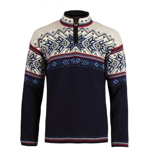 Dale of Norway Pullover »Vail« in midnight navy/red ro