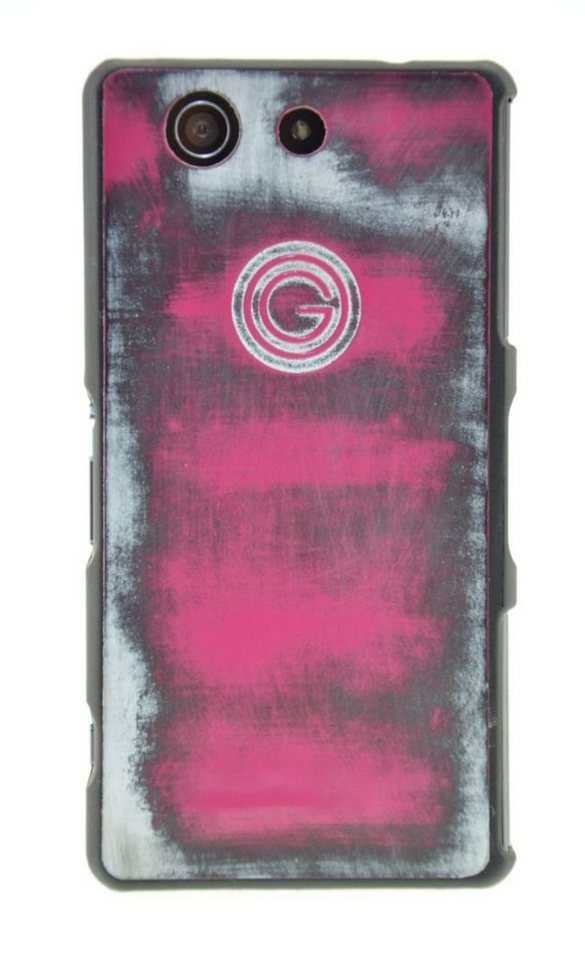 Galeli Handytasche »Back Case FUNKY für Sony Xperia Z5 Compact« in Pink