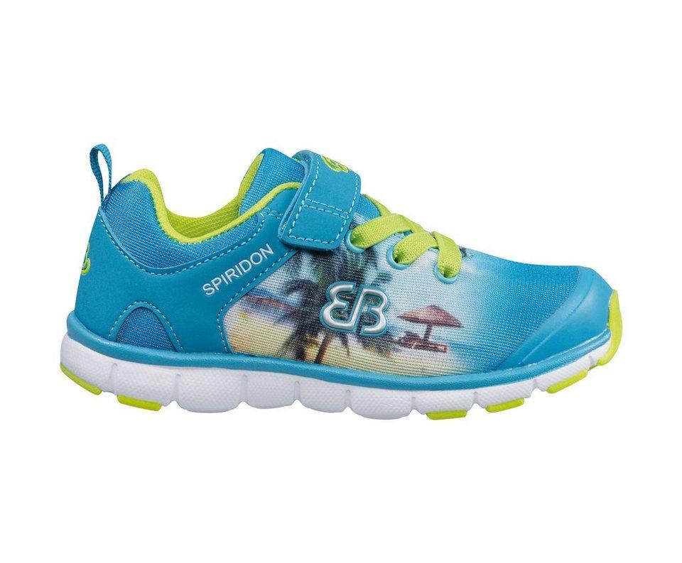 Brütting Sneaker »CREATION VS« in blau/lemon
