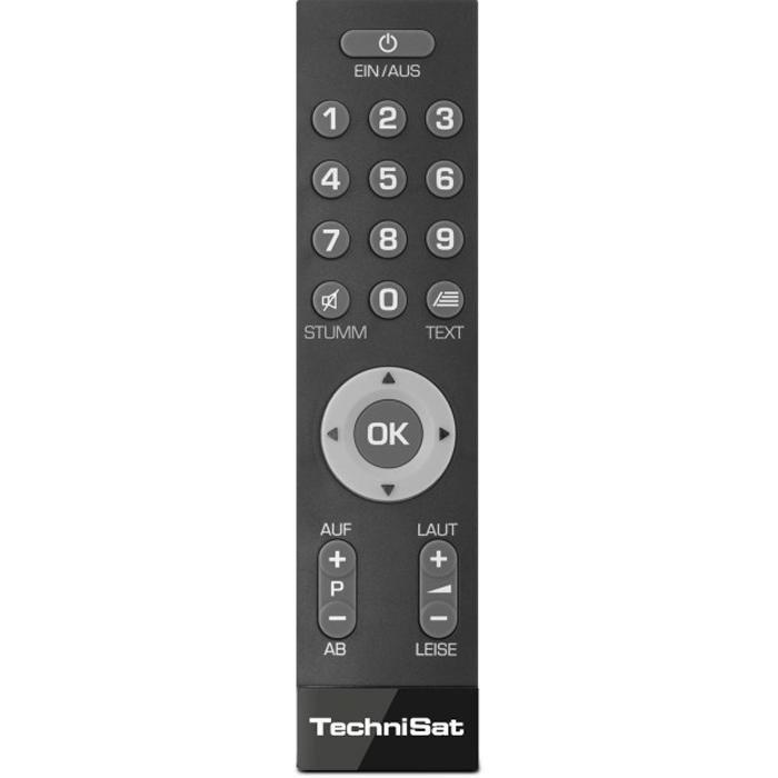 TechniSat Einfach-Fernbedienung »IsiZapper« in schwarz