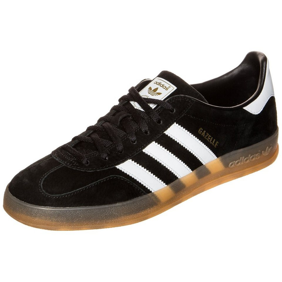 adidas Originals Gazelle Indoor Sneaker Herren in schwarz / weiß