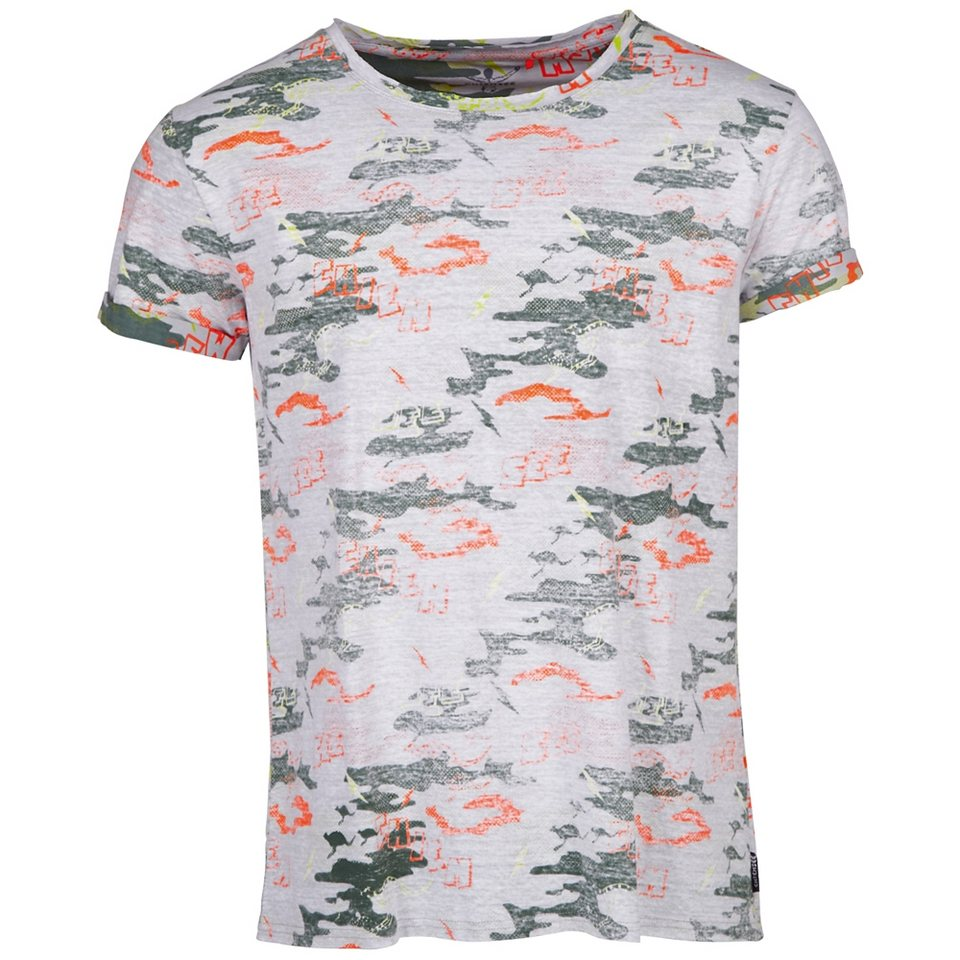 Chiemsee T-Shirt »LUCAS« in mania grey