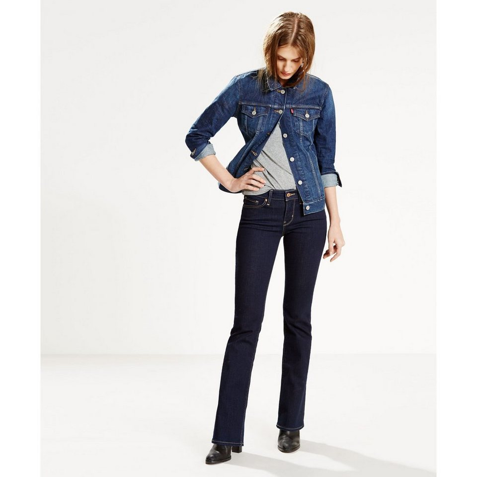Levi's® Jeans »715 BOOTCUT LONE WOLF« in Lone Wolf