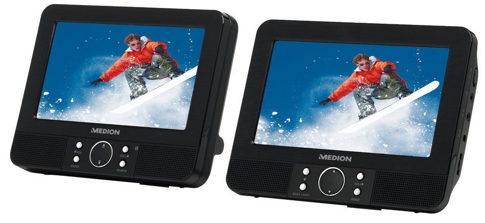 MEDION® Twin DVD-Player »LIFE® E72040 (MD 84108)«