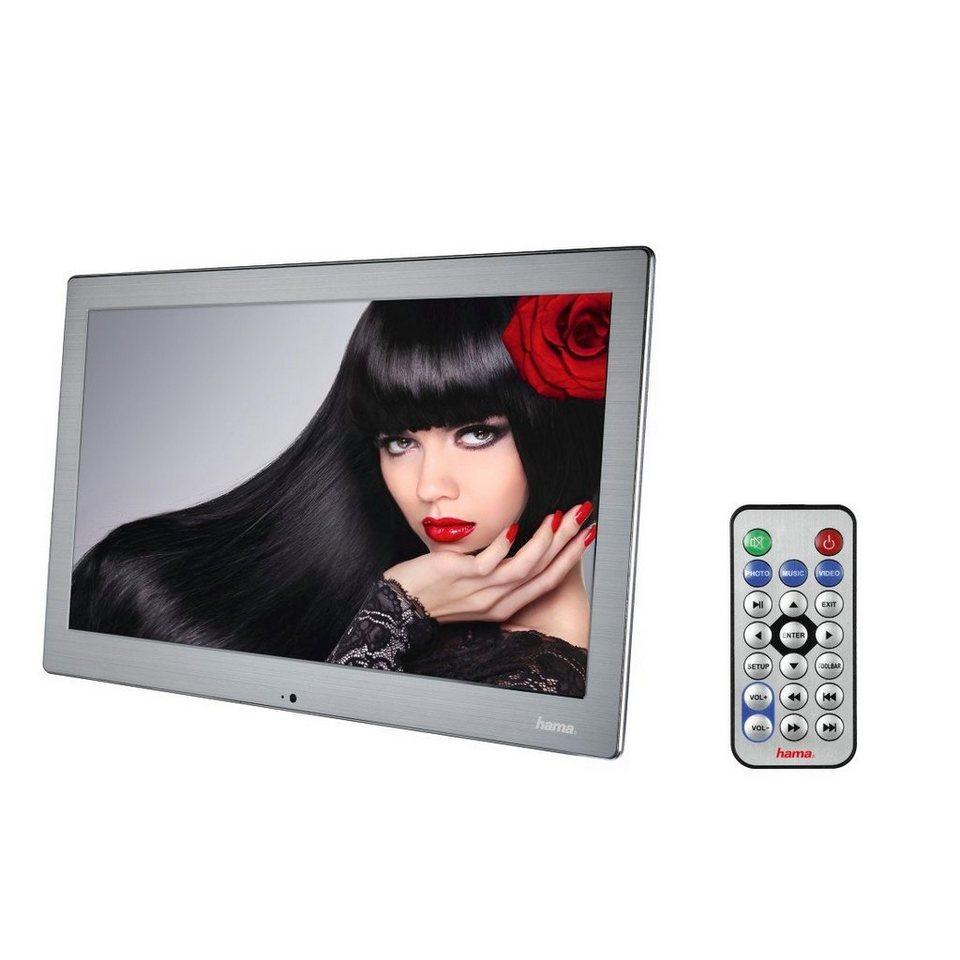 hama digitaler bilderrahmen 133slpfhd 33 80 cm 13 3 slim steel online kaufen otto. Black Bedroom Furniture Sets. Home Design Ideas