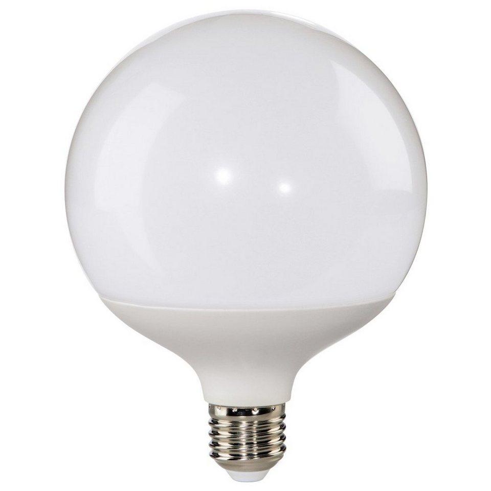 Xavax LED-Lampe, 16W, Globe, E27, dimmbar, Warmweiß in Weiss