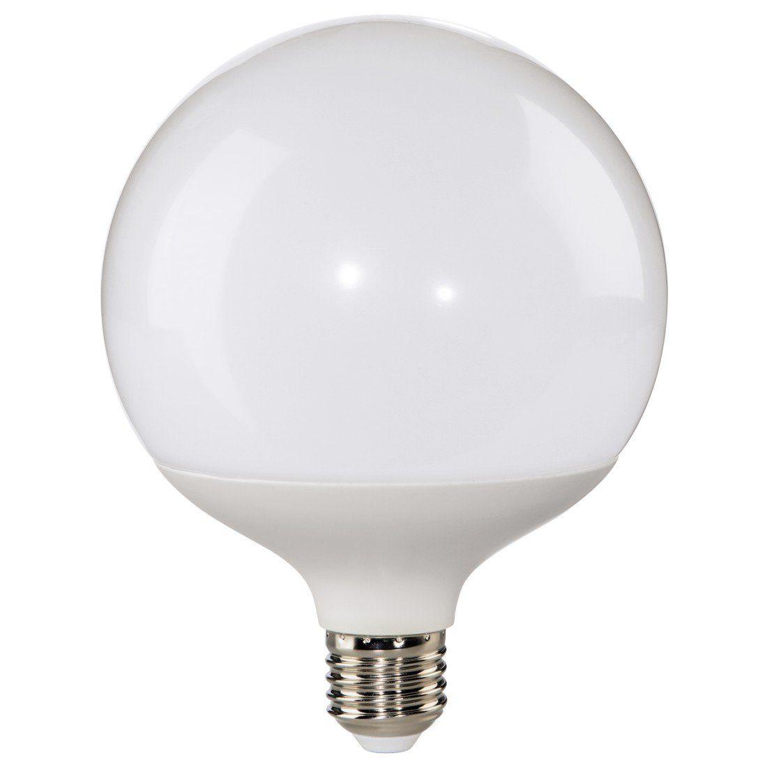 Xavax LED-Lampe, 16W, Globe, E27, dimmbar, Warmweiß