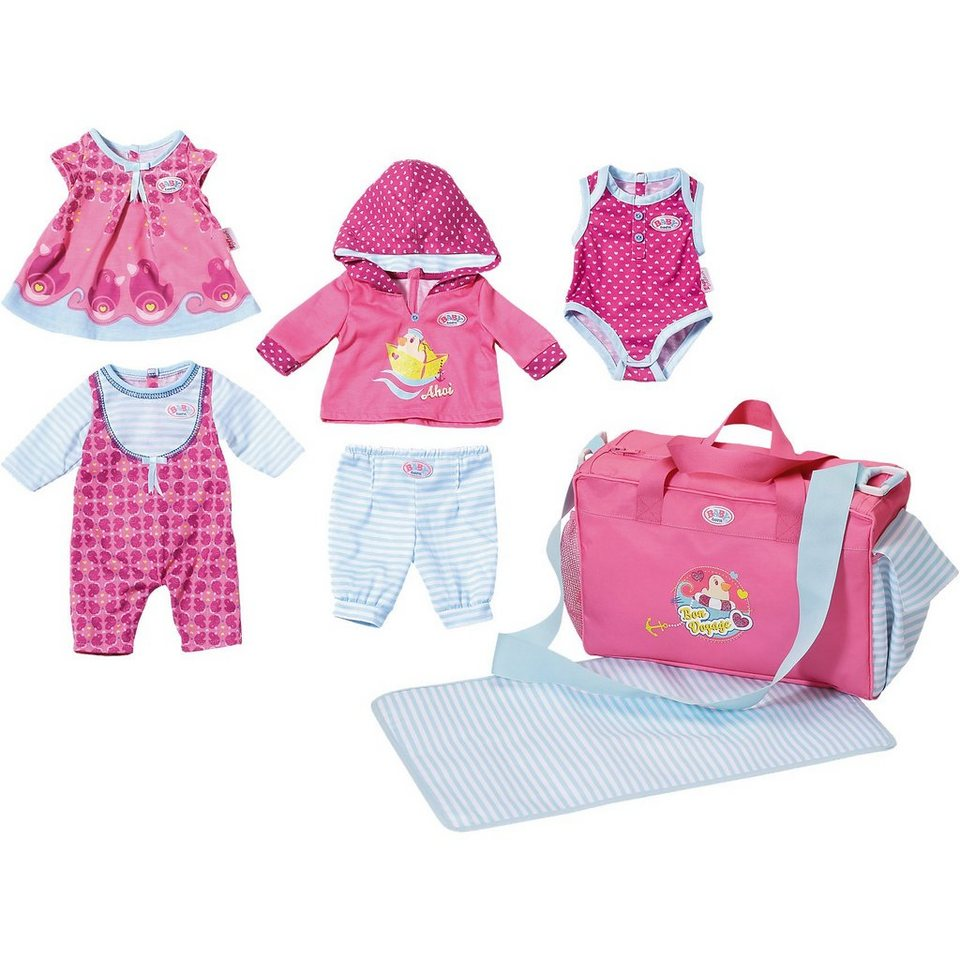 Zapf Creation BABY born® Puppenkleidung Super Set Mix & Match SPECIAL myTo