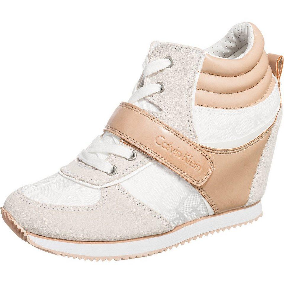 CALVIN KLEIN JEANS Viridiana Sneakers in weiß
