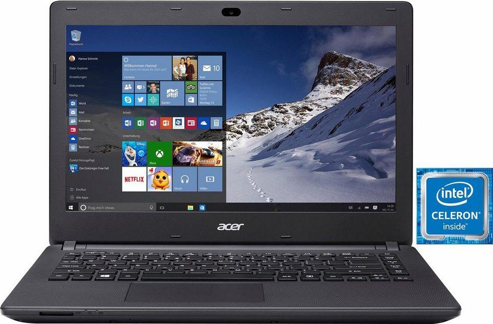 Acer Acer Aspire ES1-431-C5YC Notebook, Intel® Celeron™, 35,6 cm (14 Zoll), 32 GB Speicher in schwarz