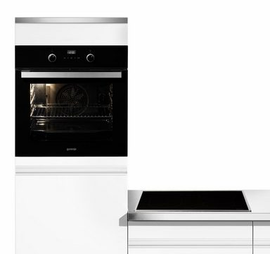 gorenje induktions backofen set sylt a mit teleskopauszug online kaufen otto. Black Bedroom Furniture Sets. Home Design Ideas