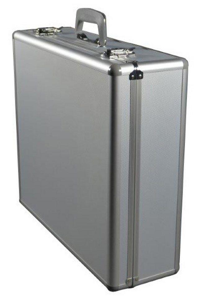 Alumaxx® Multifunktionskoffer aus Aluminium, »Stratos V« in silberfarben