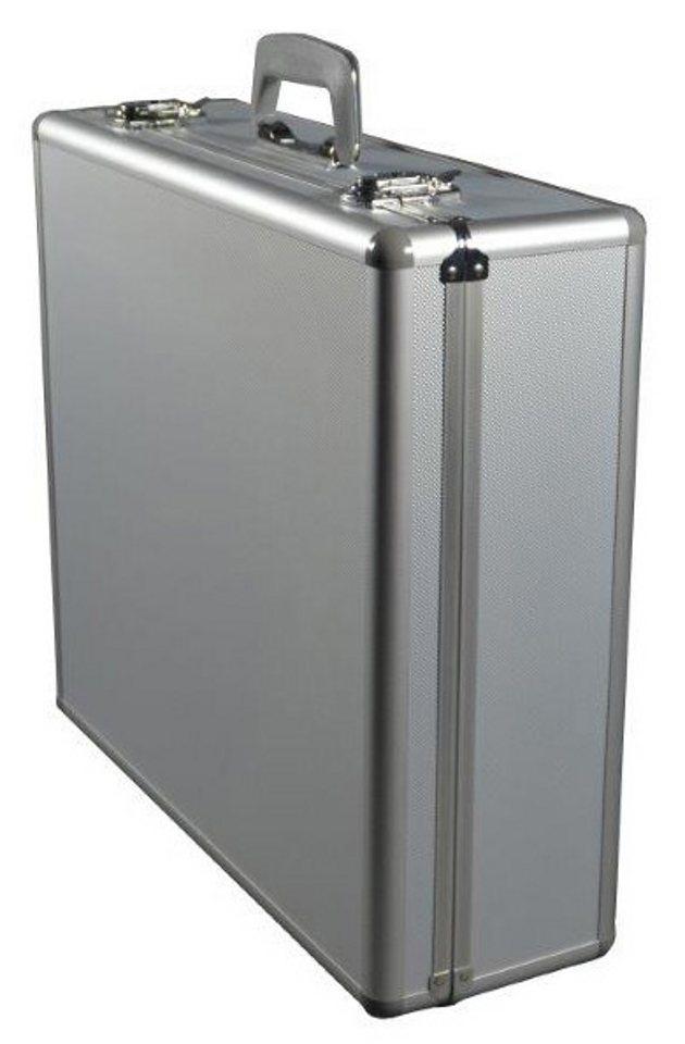 Alumaxx® Multifunktionskoffer aus Aluminium, »Stratos II« in silberfarben