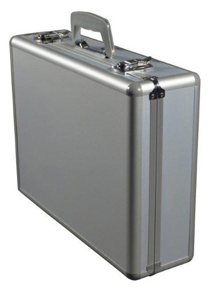 Alumaxx® Multifunktionskoffer aus Aluminium, »Stratos III« in silberfarben