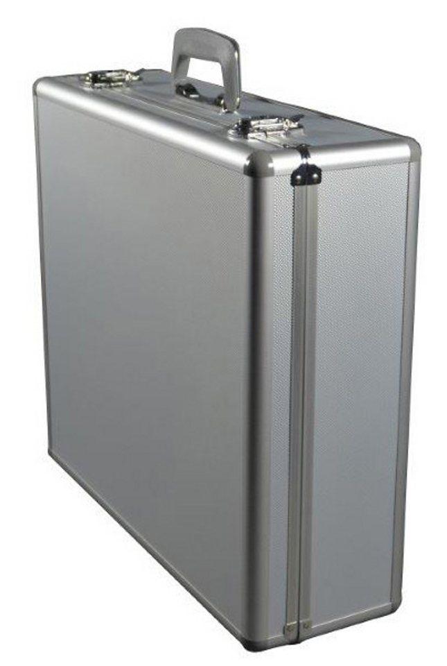 Alumaxx® Multifunktionskoffer aus Aluminium mit Schaumstoffeinlage, »Stratos IV« in silberfarben