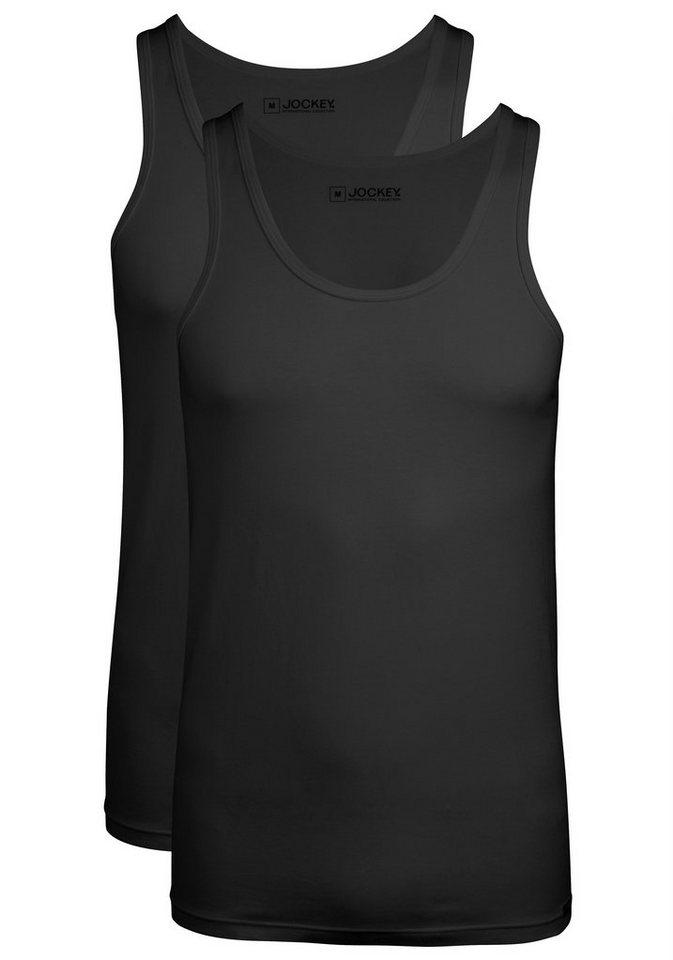 Jockey Shirt (2 Stück) aus weichem Baumwoll-Lyocell-Gemisch in 2xschwarz
