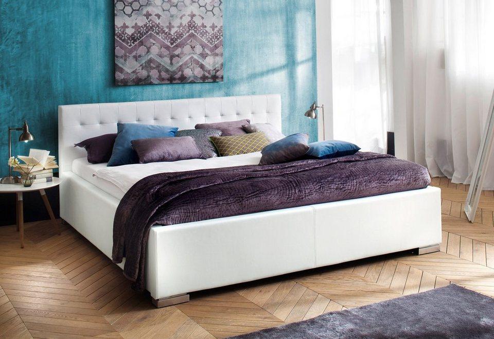 meise.möbel Bett in weiß