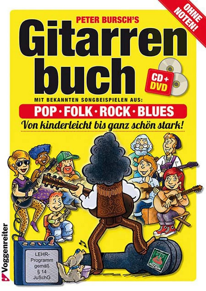 Voggenreiter Gitarre lernen mit Peter Bursch, »Peter Bursch´s Gitarrenbuch«