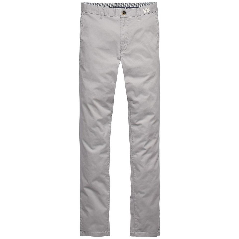 Tommy Hilfiger Hosen lang »BLEECKER CHINO ORG STR TWILL« in GULL