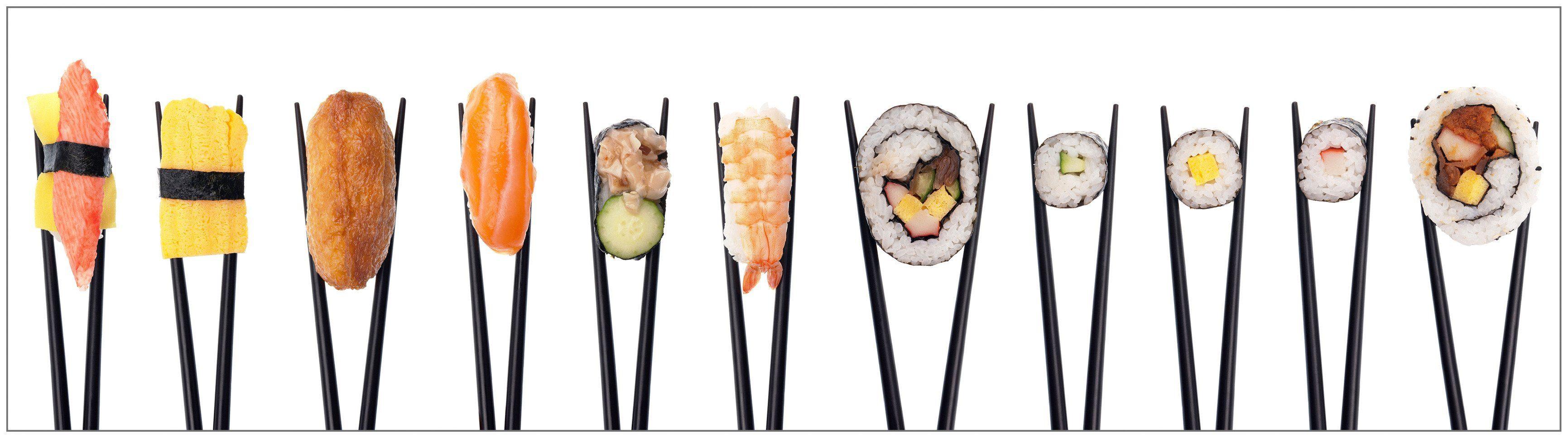 Küchenrückwand - Spritzschutz »profix«, Sushi, 220x60 cm