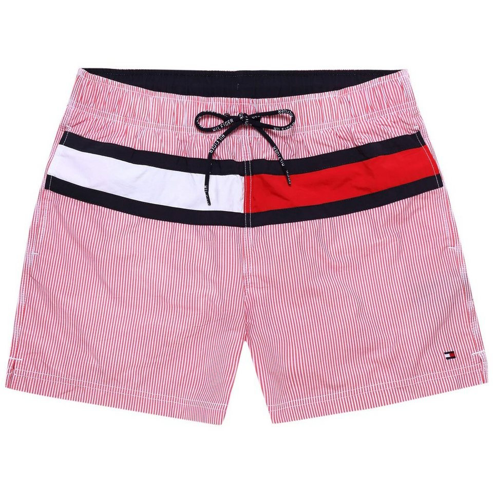 Tommy Hilfiger Bademode »FLAG TRUNK YD BILLY STP« in CHILI PEPPER
