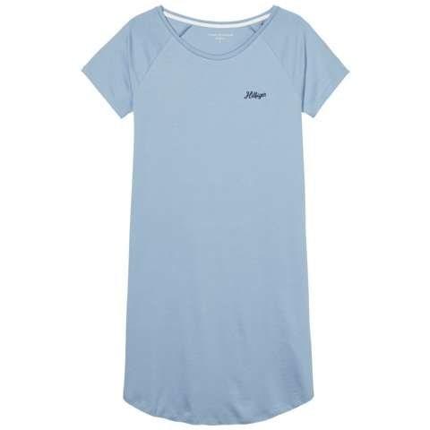 Tommy Hilfiger Nachthemden »Penne sn dress ss« in BLUE