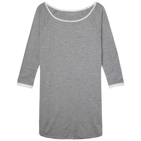 Tommy Hilfiger Nachthemden »Modal stretch bn dress ls fashion« in GREY