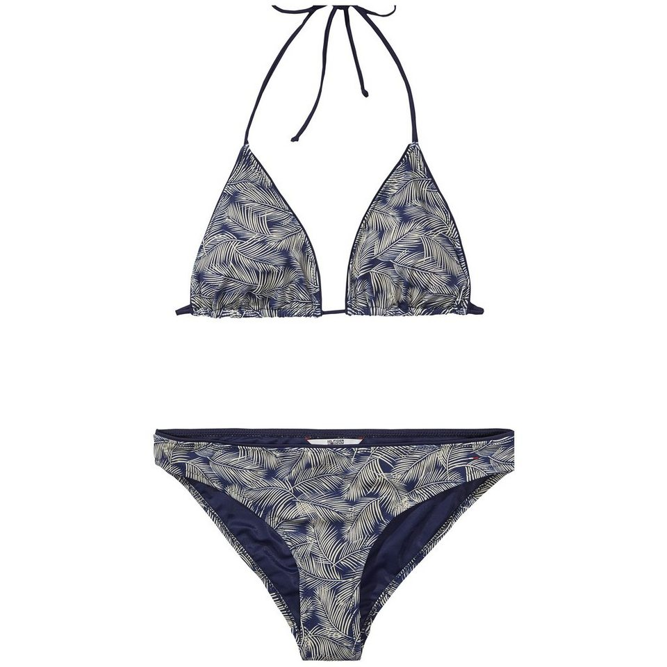 Hilfiger Denim Bikini »Graphic bikini 14« in NAVY/ WHITE PEPPER