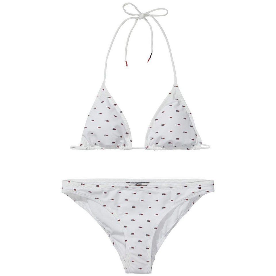 Hilfiger Denim Bikini »Flag bikini 1« in white/ MULTI