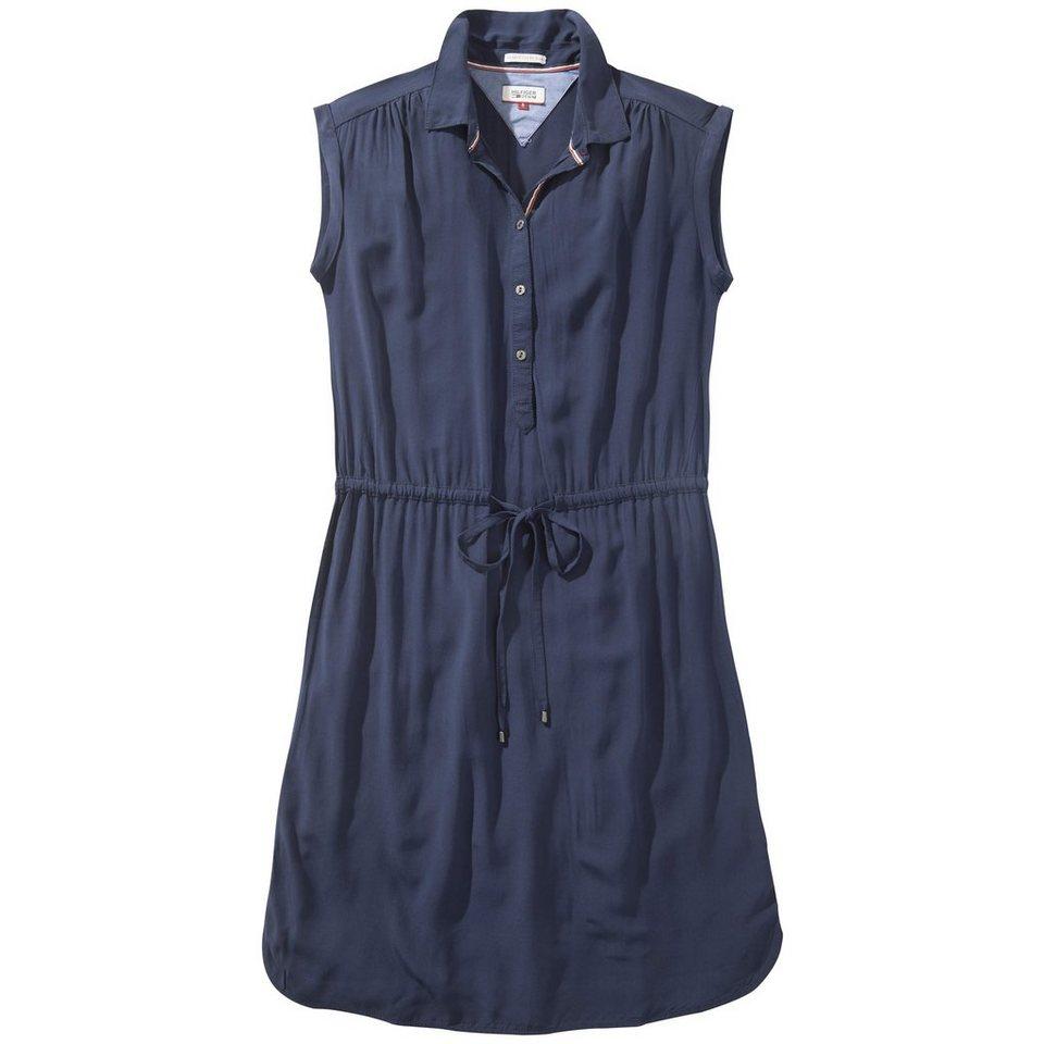 Hilfiger Denim Kleider »Basic shirt dress s/s 4« in NAVY BLAZER