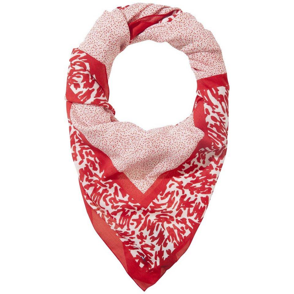 Hilfiger Denim Schals »Printed graphic scarf 7« in SALSA / EGRET