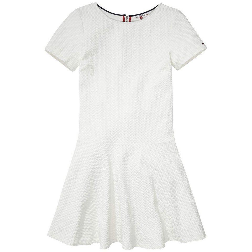 Hilfiger Denim Kleider »Drop waist knit dress s/s 8« in EGRET