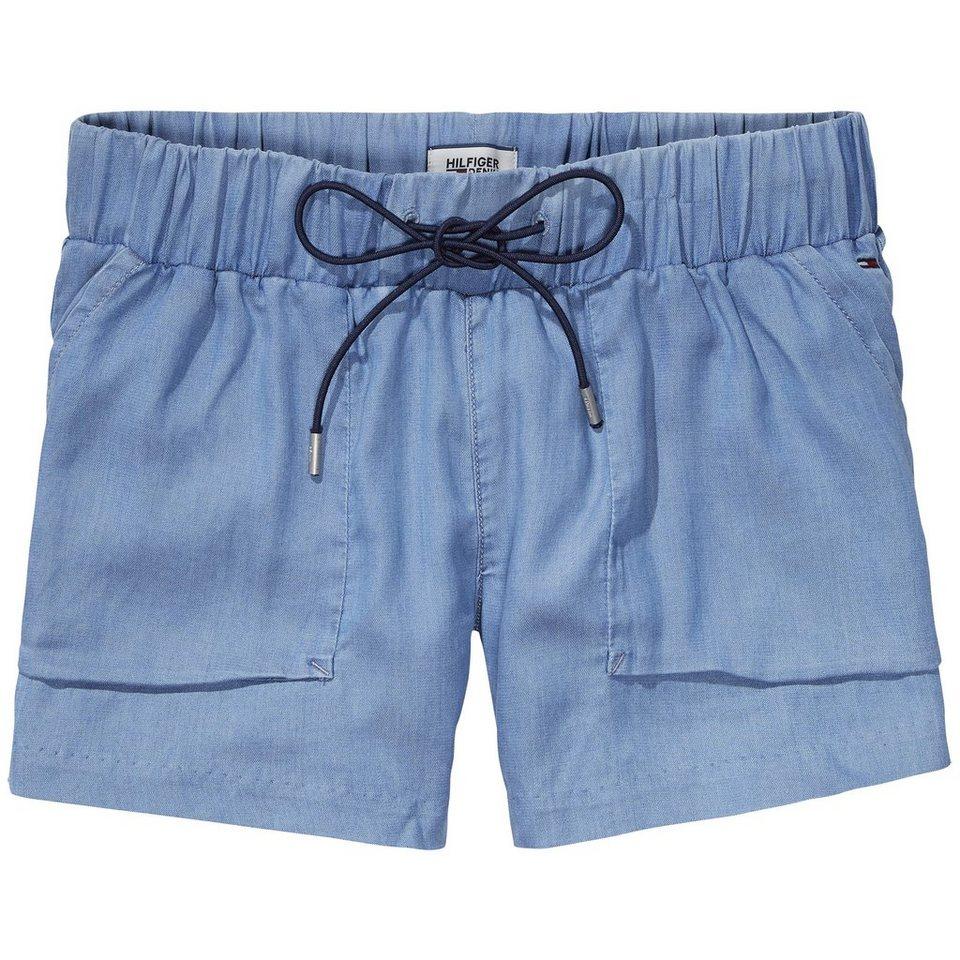Hilfiger Denim Shorts »Jog short DRIM« in DRAPEY INDIGO MID