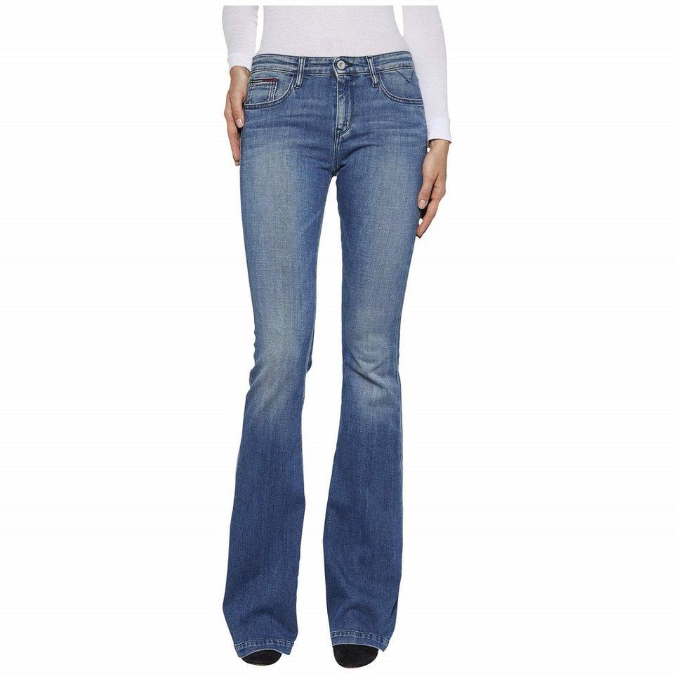 Hilfiger Denim Jeans »Mid rise flare Fran SLBST« in SLUBBY STRETCH-EUR