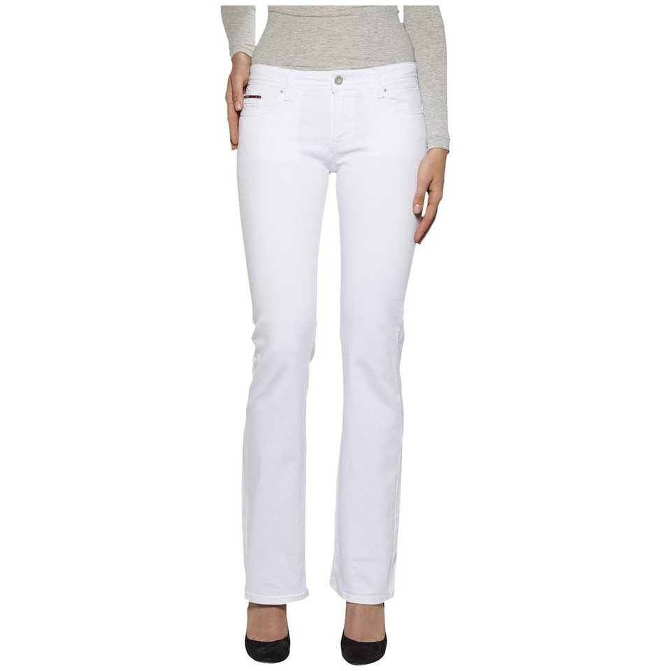 Hilfiger Denim Jeans »Mid rise boot Sandy BC WHST« in WHITE STRETCH
