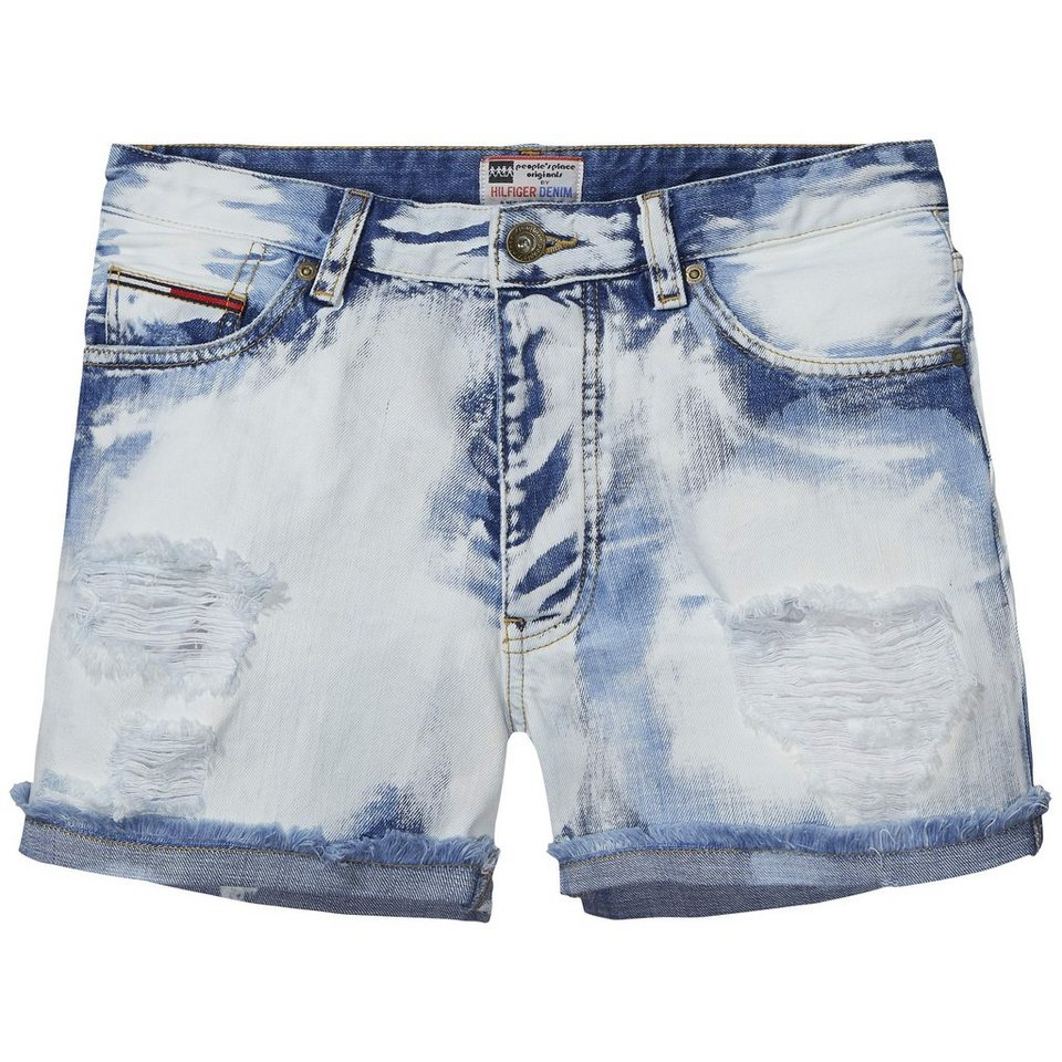 Hilfiger Denim Shorts »PPO Short PBLE« in PPO BLEACHED