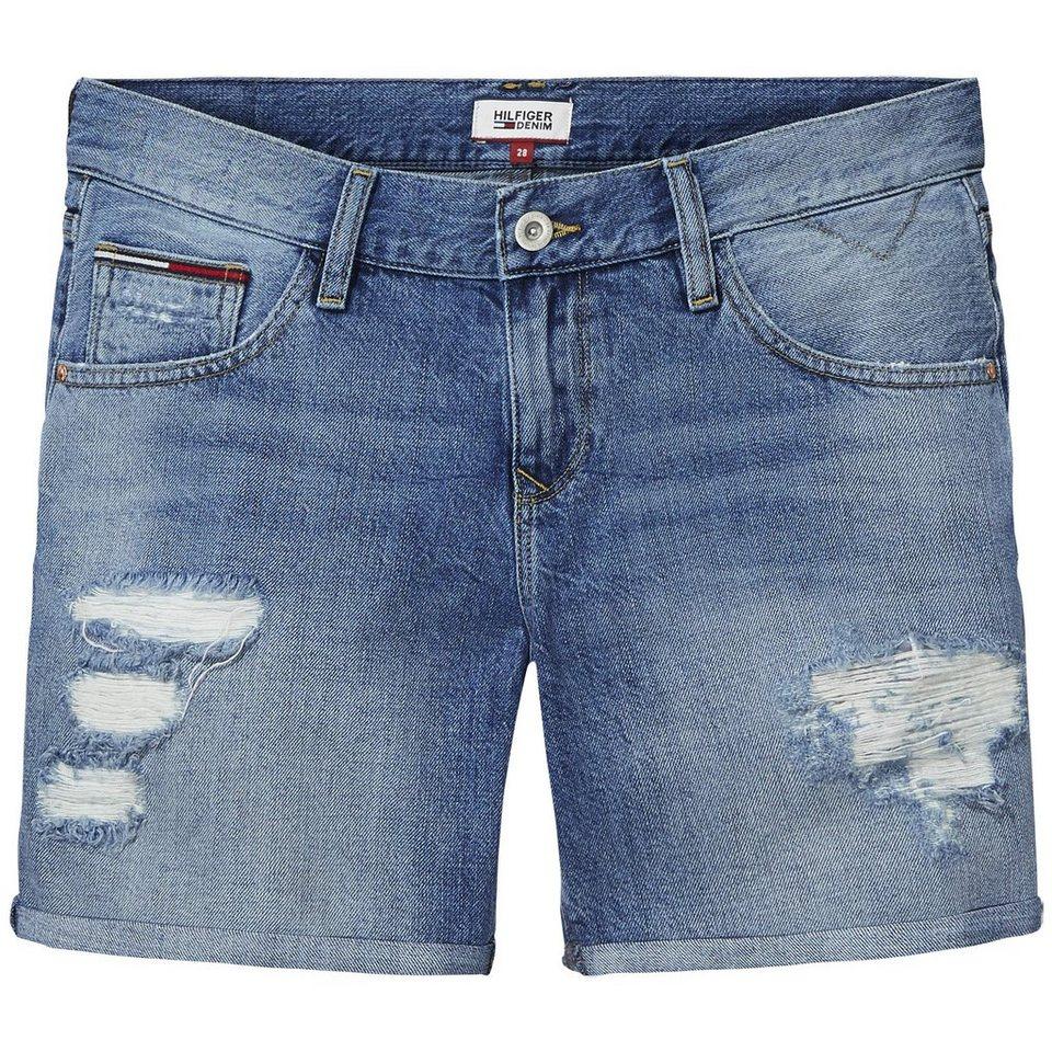 Hilfiger Denim Shorts »Boyfriend short CEDE« in CERULIAN DESTRUCTED-EUR